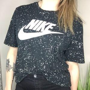 Nike Splatter Athletic Cut T-shirt